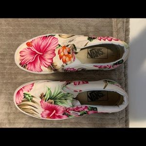 Hawaiian Slip-on Vans